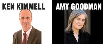 Image - Amy Goodman and Kenneth Kimmell