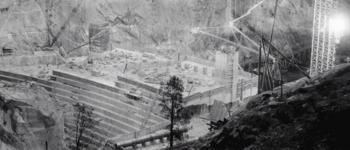 Image - O'Shaughnessy Dam construction