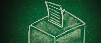 Image - drawing of ballot box