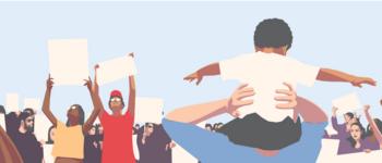 Image - Illustration of protestors