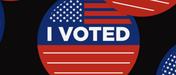Image - I voted sticker