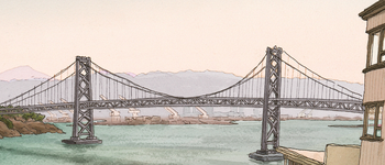 Image - Drawing of bridge