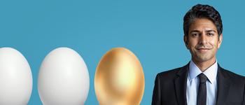 Image - Suneel Gupta and eggs