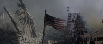 Image - collage of images from the World Trade Center on 9/11