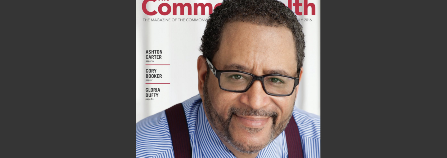 Image - Michael Eric Dyson Commonwealth magazine cover