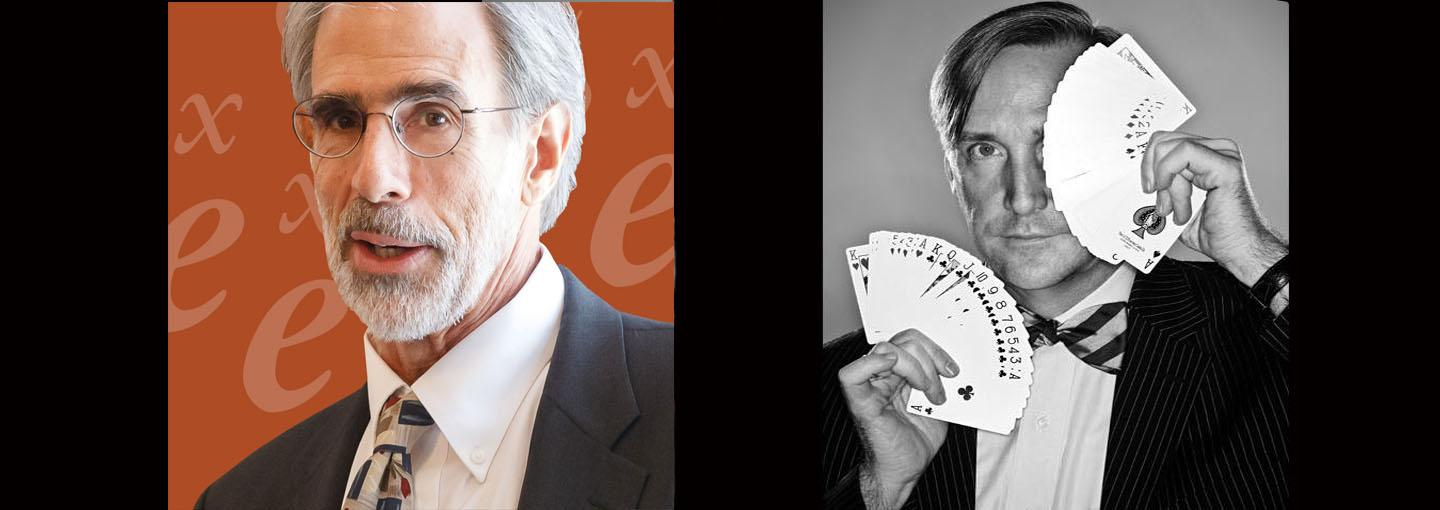 Image - Math, Magic and Surprise: Mathematician David Eisenbud in Conversation with Magician Mark Mitton