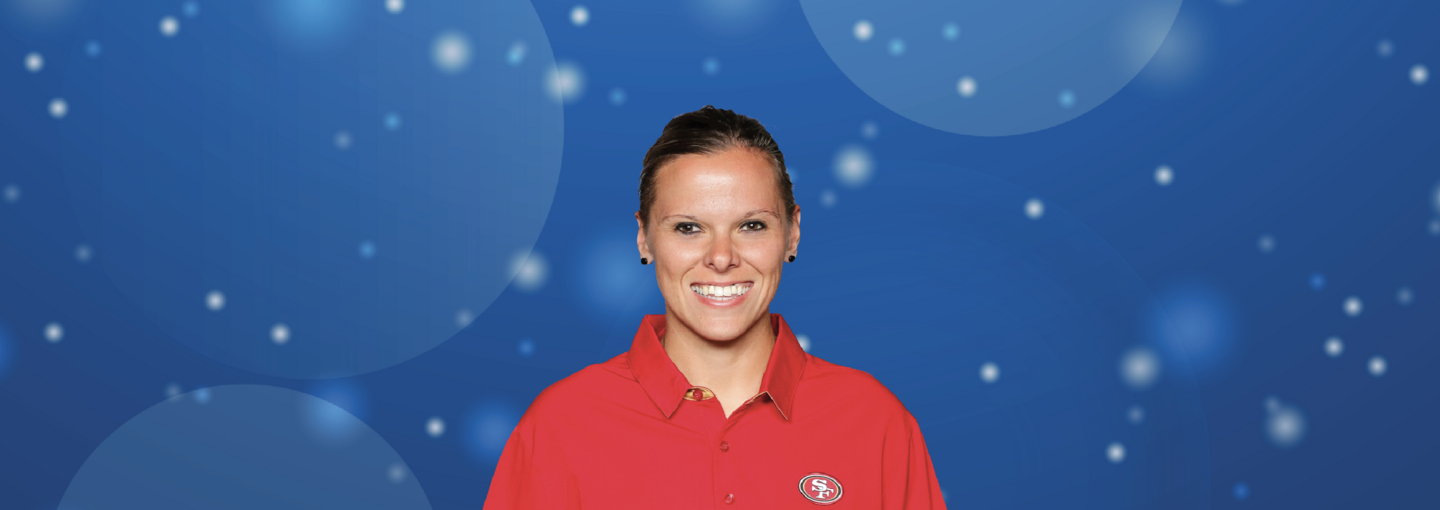 Image - 49ers Assistant Coach Katie Sowers