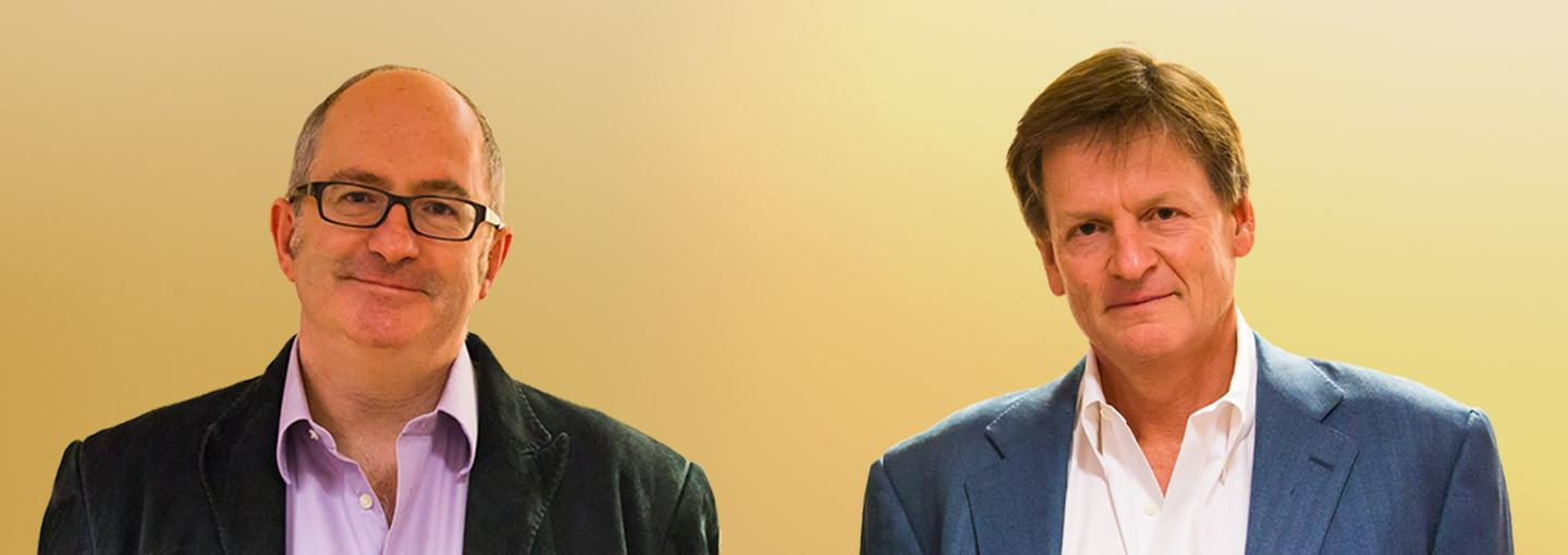 Image - John Lanchester and Michael Lewis