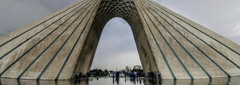 Image - arch in Tehran