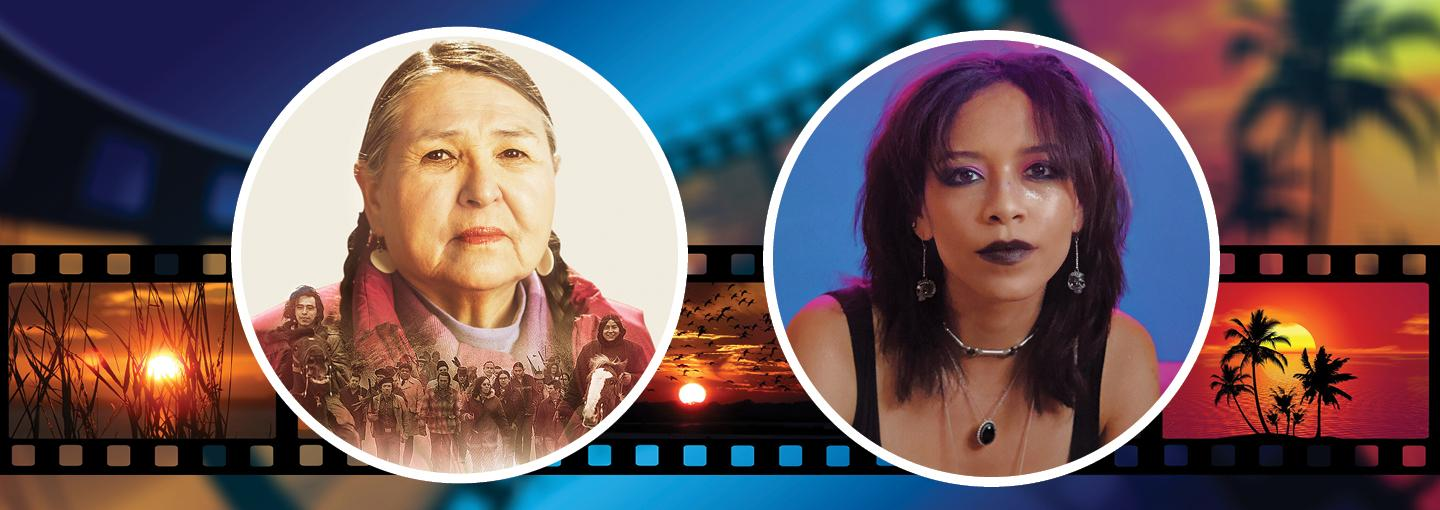 Image - Sacheen Littlefeather and Sivan Alyra Rose