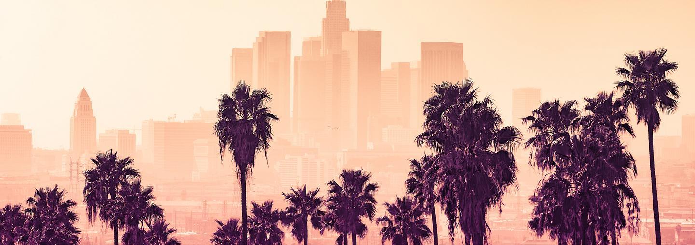 Image - California urban skyline illustration