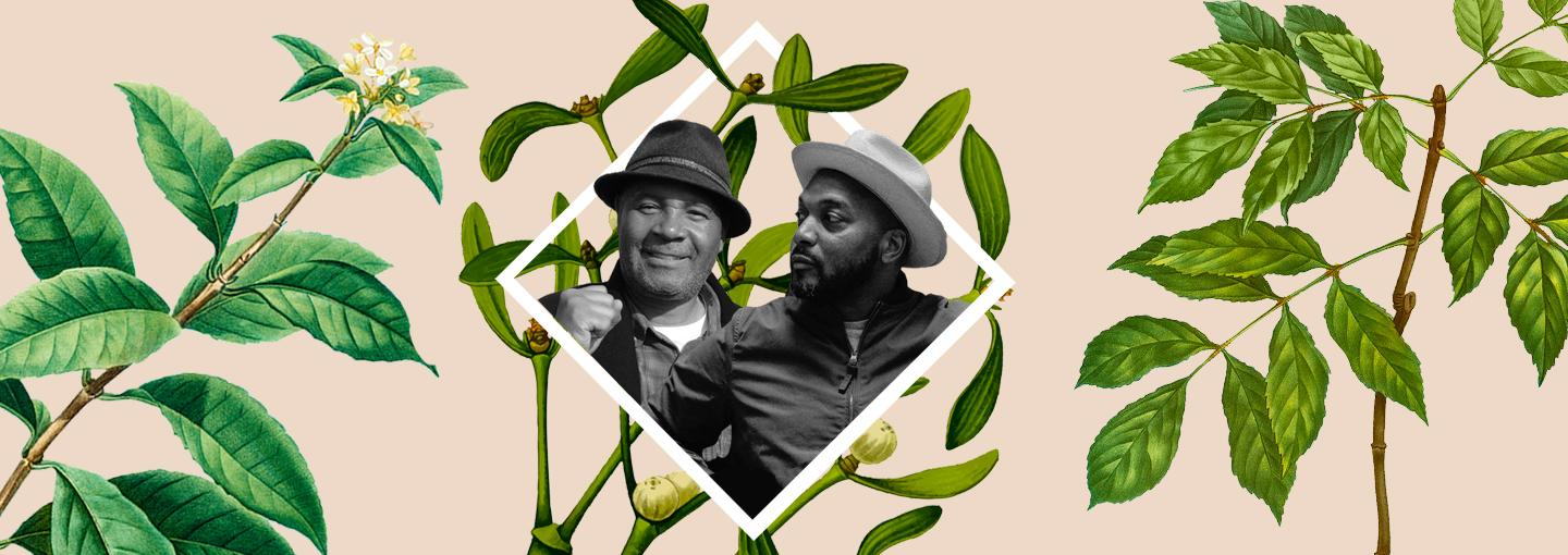 Image - Afro-Vegans Bryant Terry and Emory Douglas