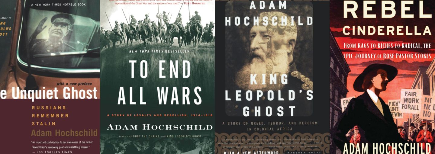 Image - covers of Hochschild books