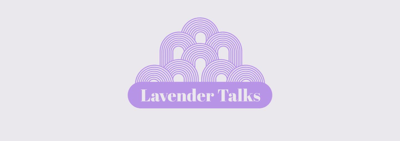 Image - Lavender Talks logo