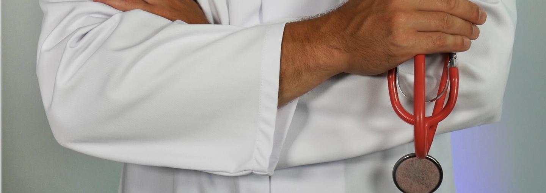 Image - doctor holding stethoscope