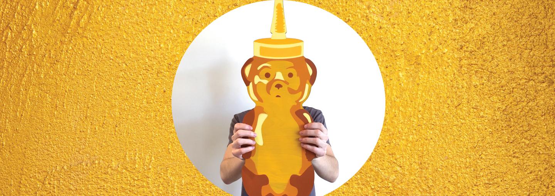 image - honey bear