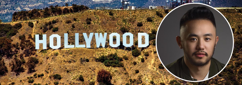 Image - Bee Vang and Hollywood sign
