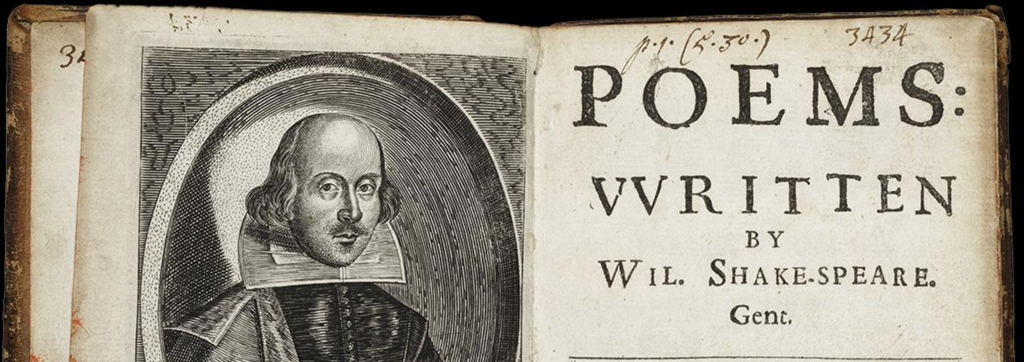 Image - Shakespeare poetry book