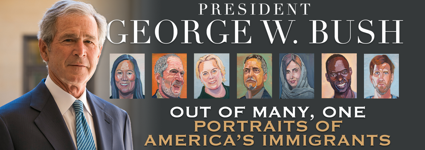 Image - President George W. Bush and his paintings