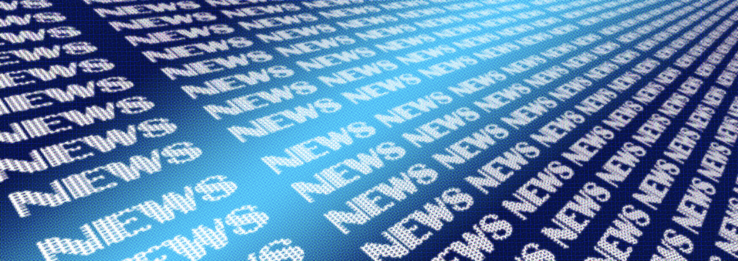 Image - text of the word news