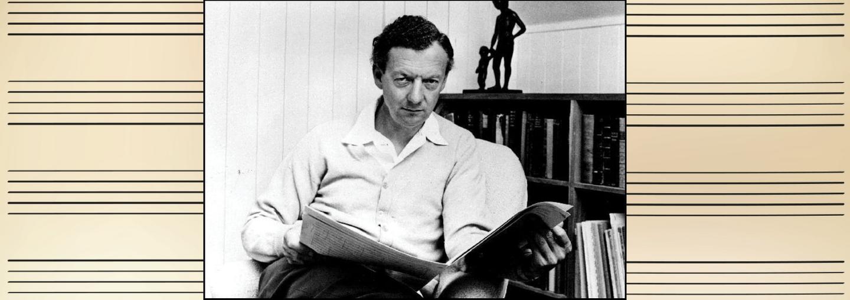 Image - Benjamin Britten