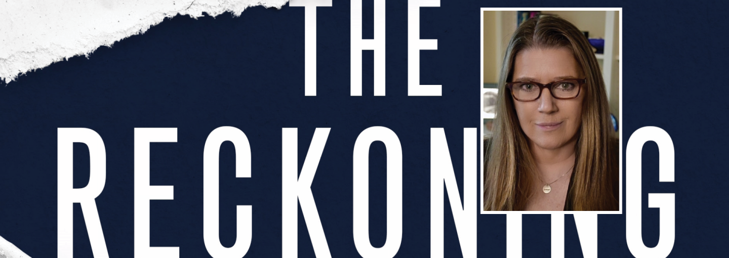 Image - Mary Trump and title of her book The Reckoning