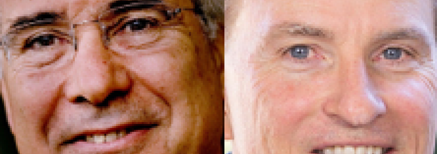 Image - Lord Nicholas Stern and Steve Westly