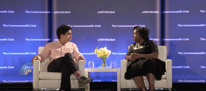 Image - Sal Khan and Kimberly Bryant