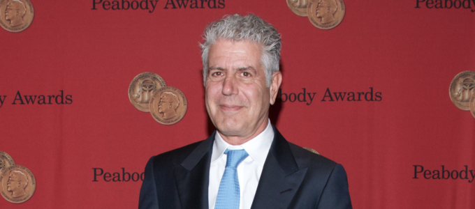 Image - Anthony Bourdain at the Peabody Awards