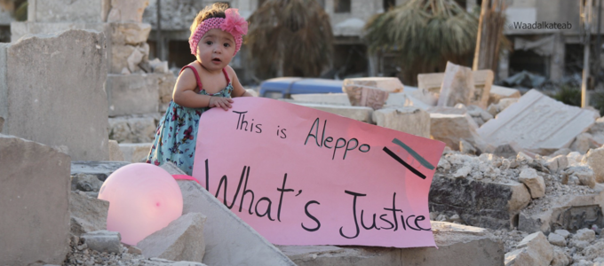 Image - Young girl in Aleppo