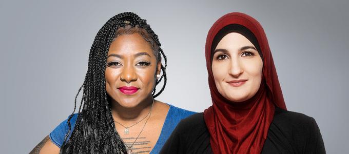 Image - Alicia Garza and Linda Sarsour