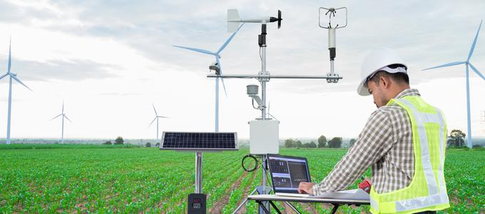 Image - technology in a field