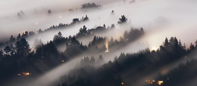 Image - fog on mountainside