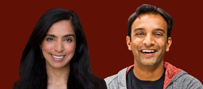 Image - Aarti Shahani and DJ Patil