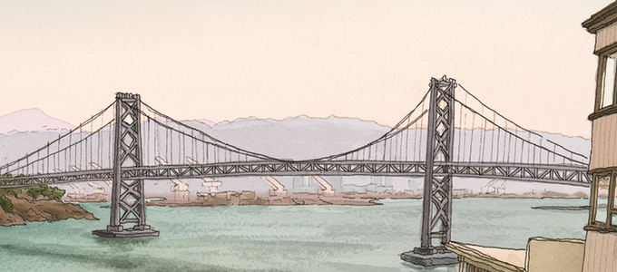 Image - Drawing of bridge