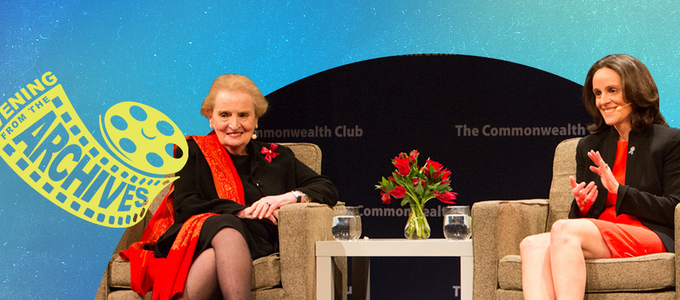 Image - Madeleine Albright and Katie Albright