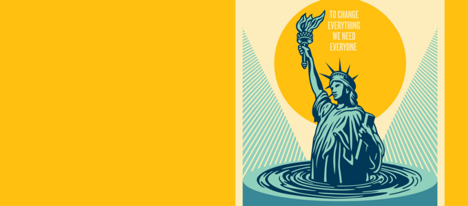 Image - image of Statue of Liberty in water