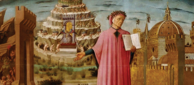 Image - detail from Dante painting