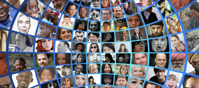 Image - photo montage of dozens of people's faces