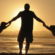 Image - father with two children