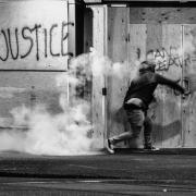 Image - Protestor in Portland, Oregon