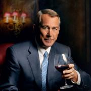 Image - John Boehner holding wine glass