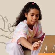 Image - girl at computer