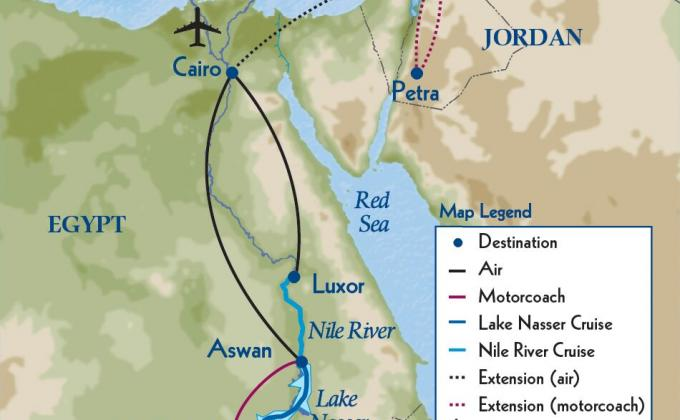 Egypt And The Eternal Nile Commonwealth Club - Map of egypt nile