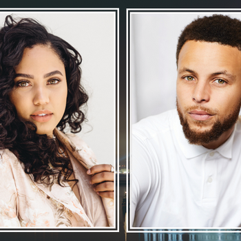 Image - Ayesha and Stephen Curry