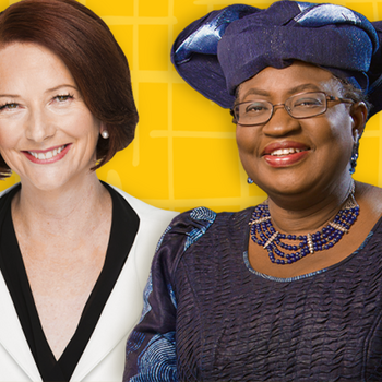 Image - Julia Gillard and Ngozi Okonjo-Iweala